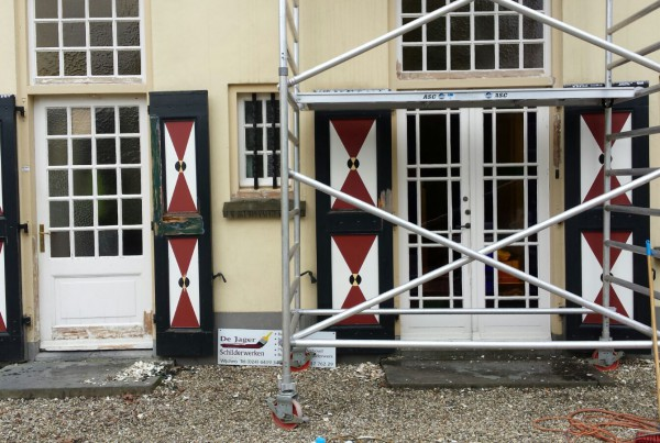 Luiken reparatie en schilderwerk